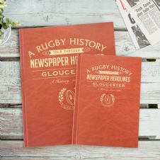 Rugby History - Newspaper Book A4
